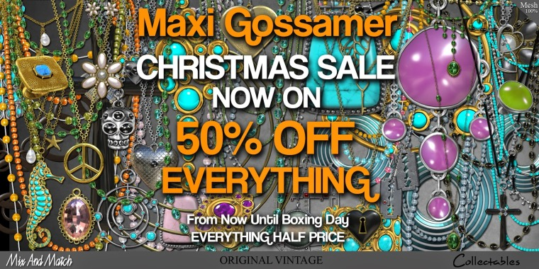 CHRISTMAS SALE - 50% OFF